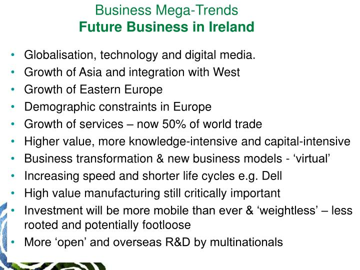 Business Mega-Trends