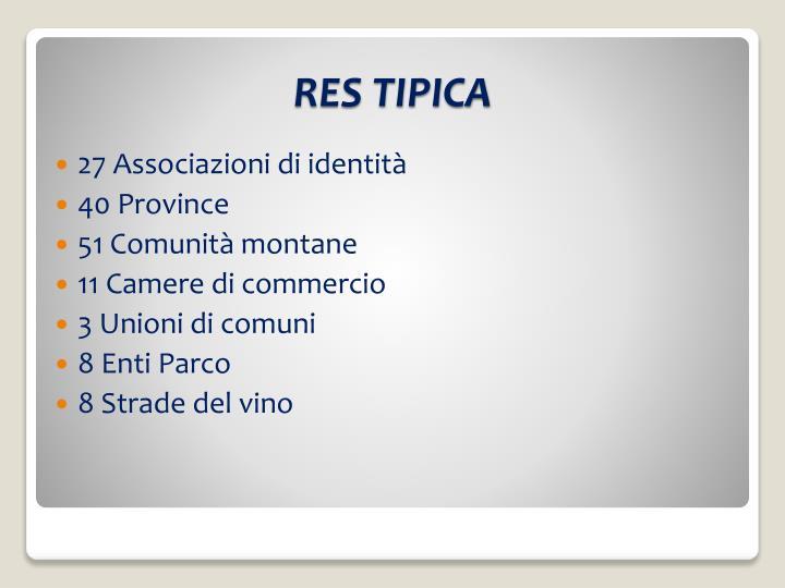 RES TIPICA