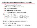 8 1 5 performance measures of branch processing