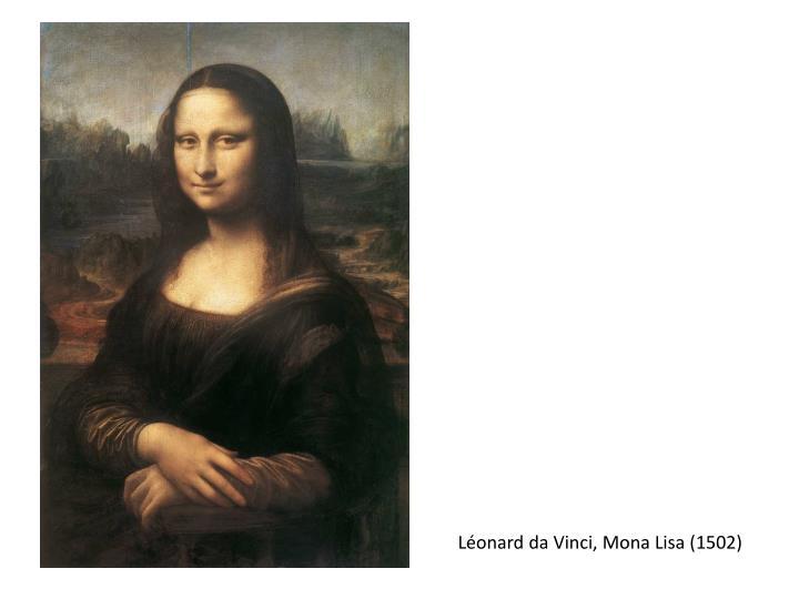 Léonard da Vinci, Mona Lisa (1502)