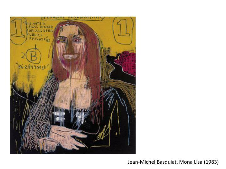 Jean-Michel Basquiat, Mona Lisa (1983)