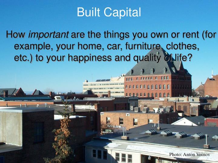 Built Capital