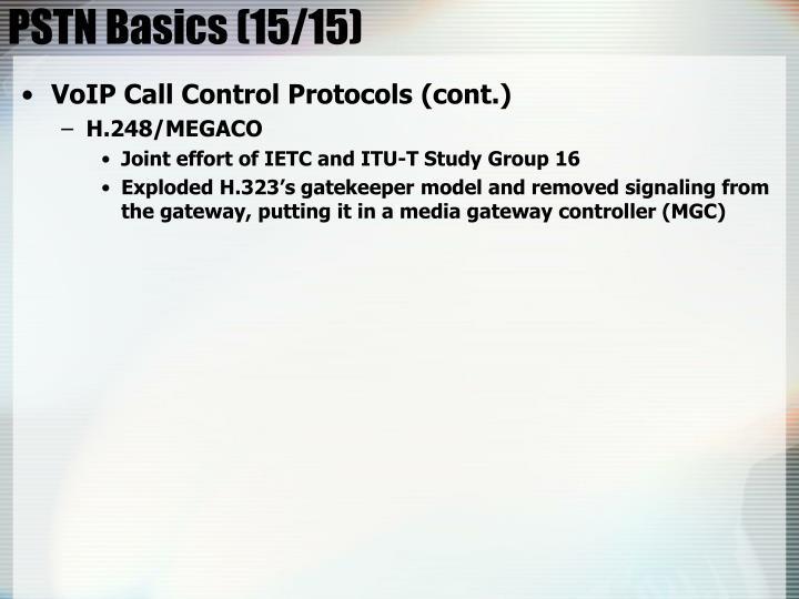 PSTN Basics (15/15)