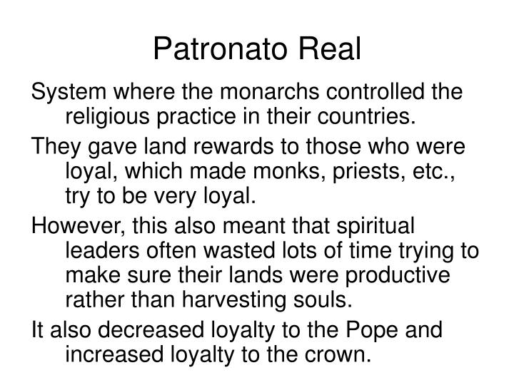 Patronato Real