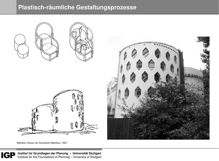 Plastisch-räumliche Gestaltungsprozesse