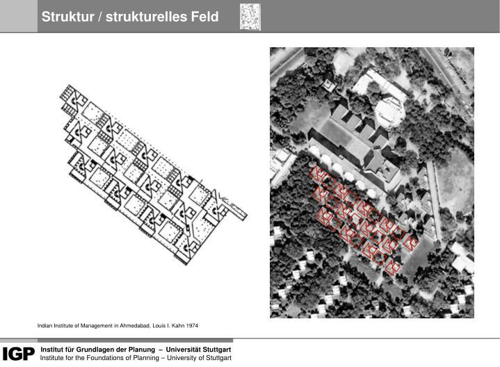 Struktur / strukturelles Feld