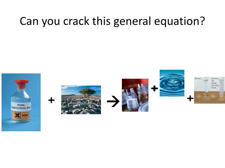 Can you crack this general equation?