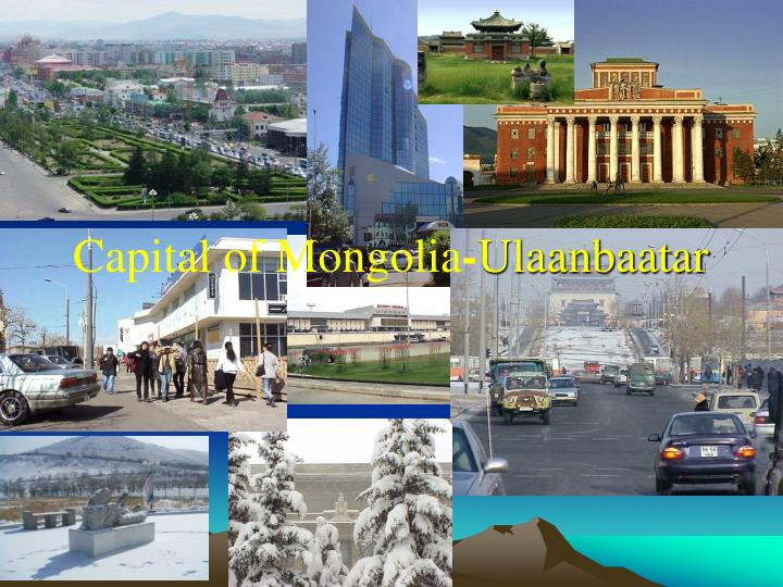 Capital of Mongolia