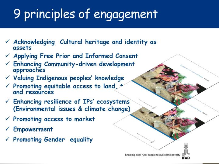 9 principles of engagement