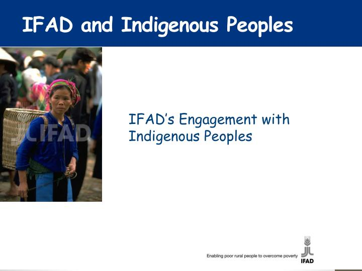 IFAD and Indigenous Peoples