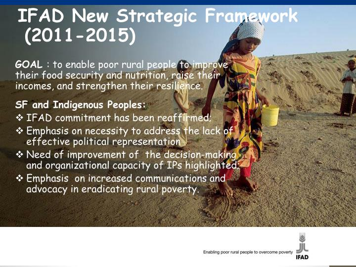IFAD New Strategic Framework