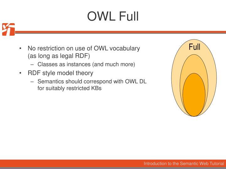 OWL Full