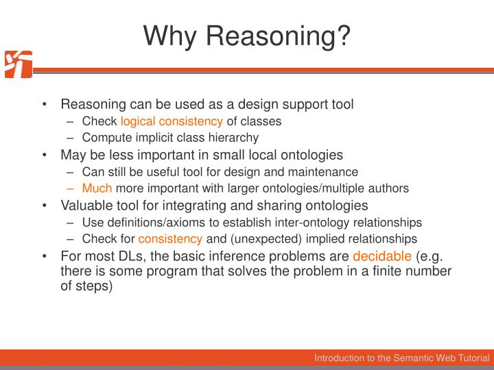 Why Reasoning?