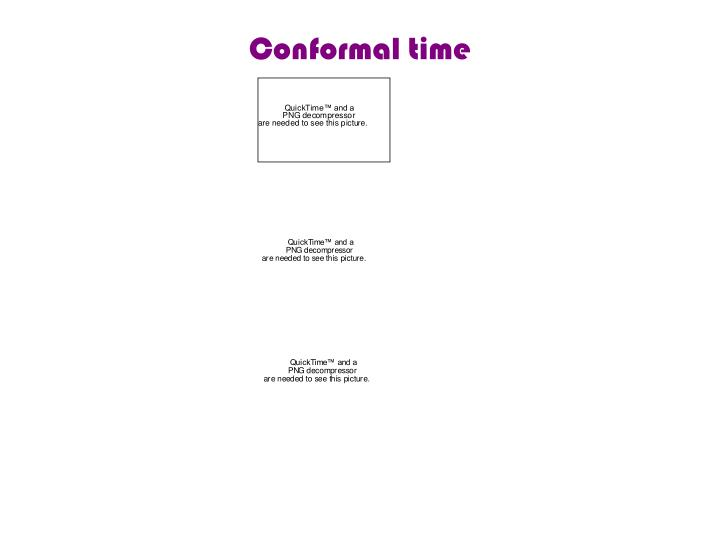 Conformal time