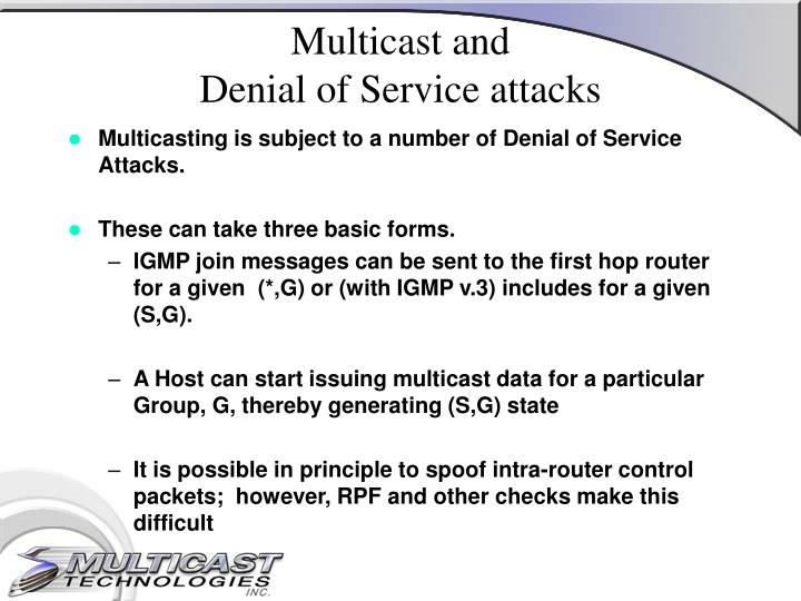Multicast and