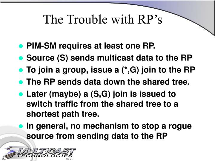 The Trouble with RP's