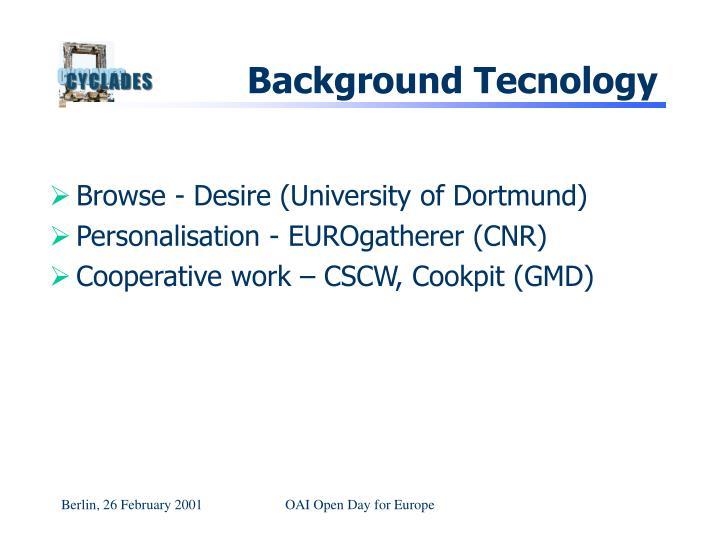 Background Tecnology