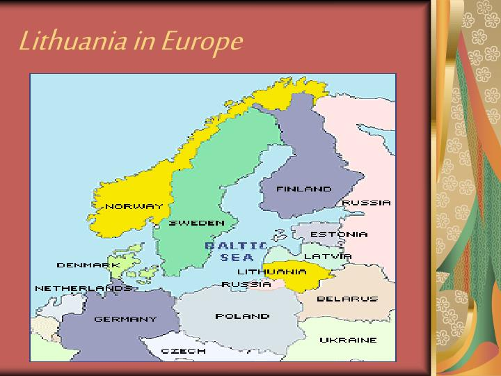 Lithuania in e urope
