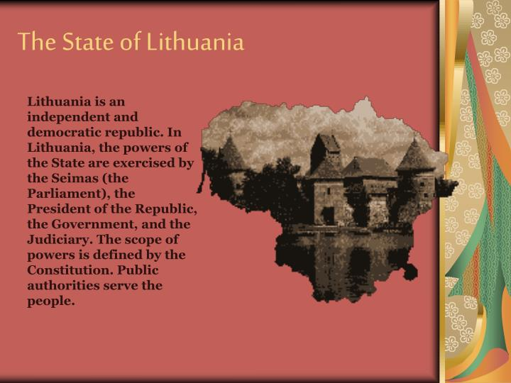 The State of Lithuania