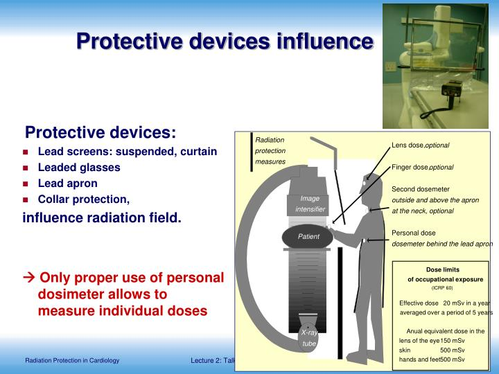 Protective devices influence
