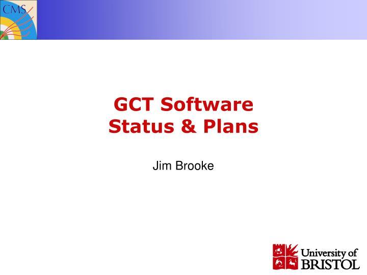 GCT Software