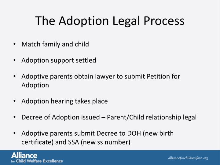 The Adoption Legal Process