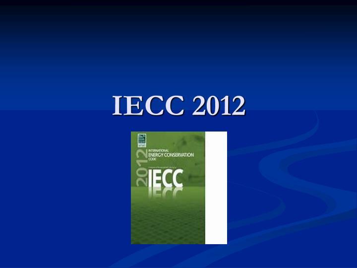 IECC 2012