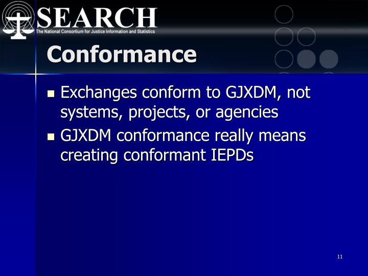 Conformance
