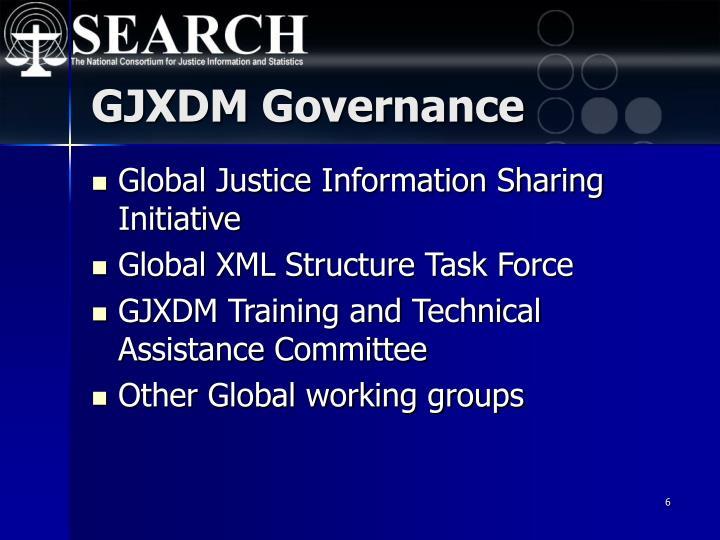 GJXDM Governance