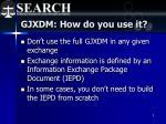 gjxdm how do you use it