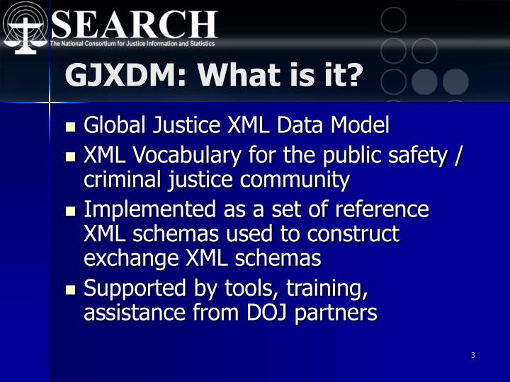 GJXDM: What is it?