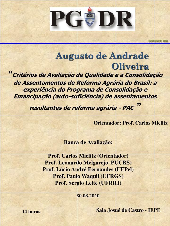 Augusto de Andrade Oliveira