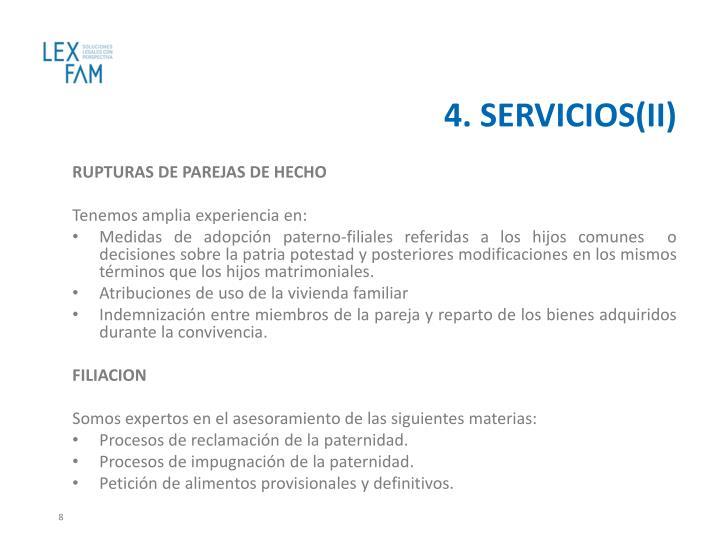 4. SERVICIOS(II)