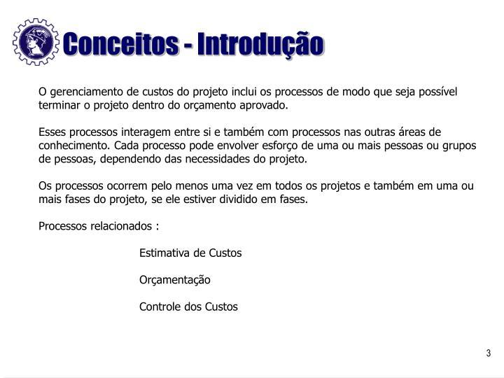 Conceitos - Introdução