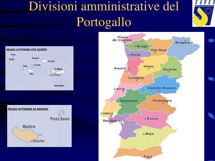 Divisioni amministrative del Portogallo