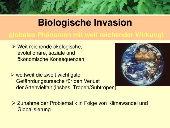 Biologische Invasion