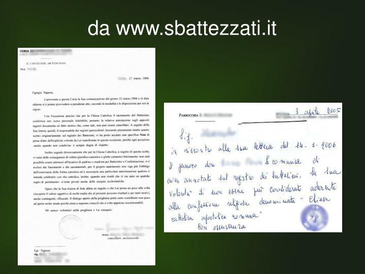 da www.sbattezzati.it