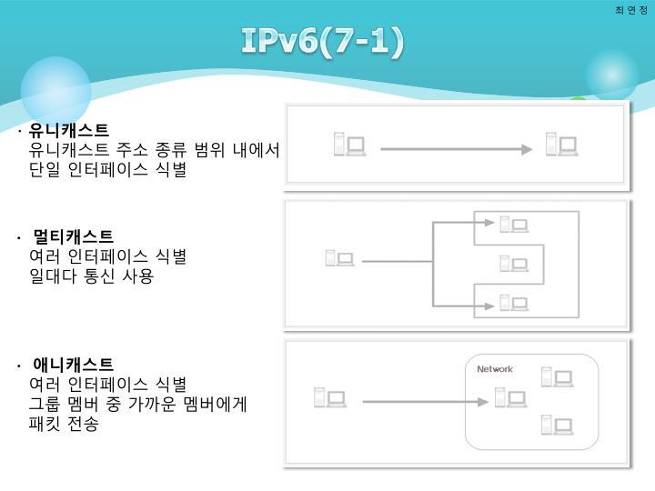 IPv6(7-1)