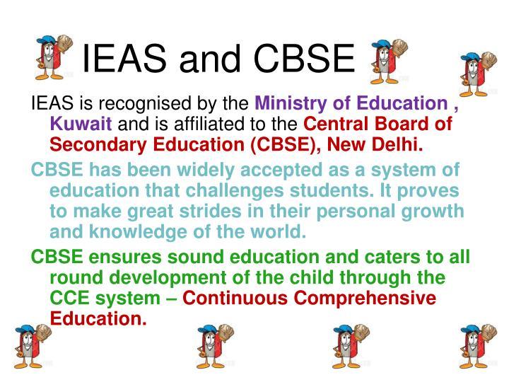 IEAS and CBSE