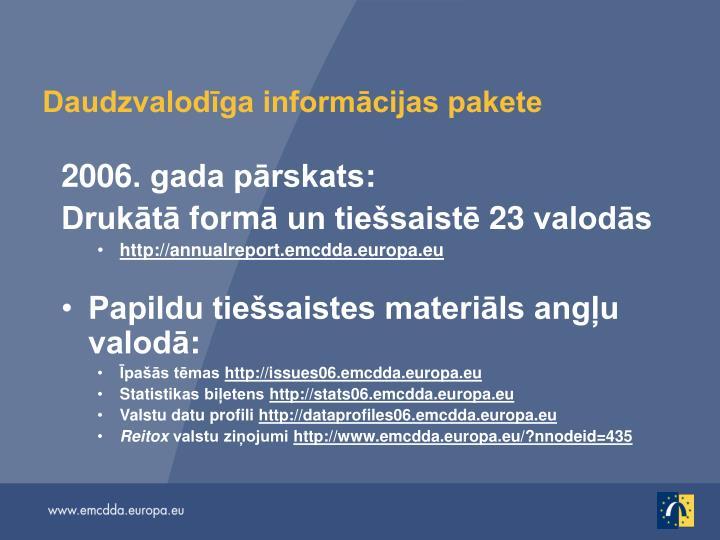 Daudzvalodīga informācijas pakete
