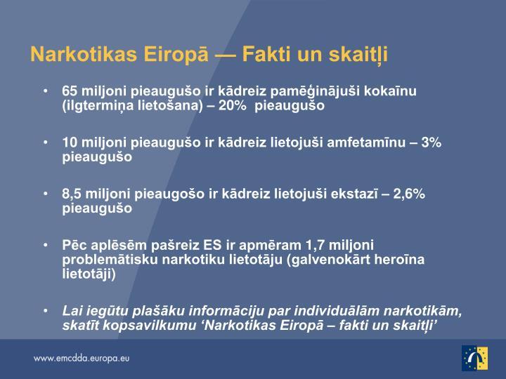 Narkotikas Eiropā