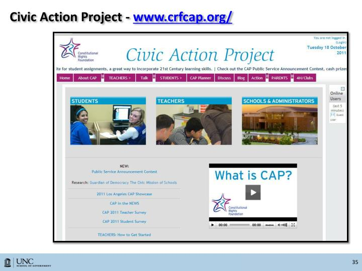 Civic Action Project -