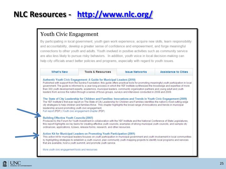 NLC Resources -