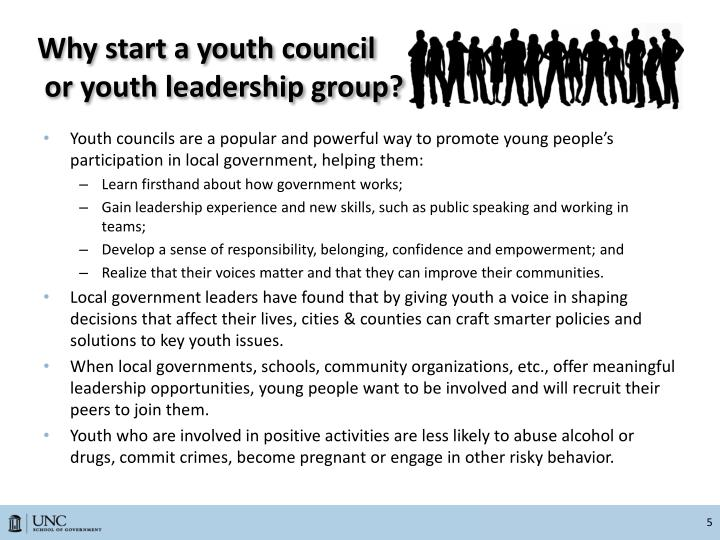 Why start a youth council