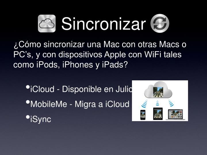 Sincronizar