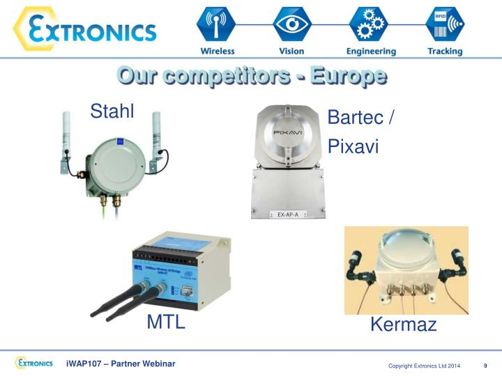 Our competitors - Europe
