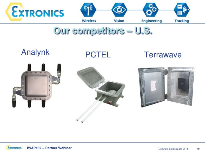 Our competitors – U.S.