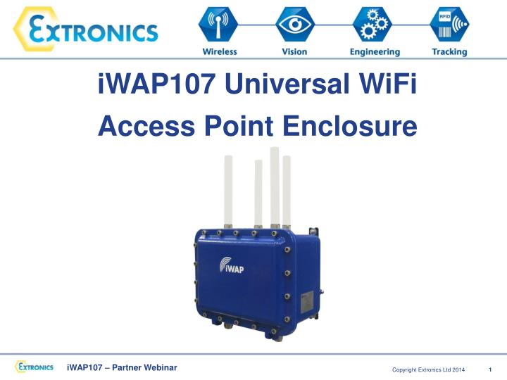 IWAP107 Universal WiFi Access Point Enclosure