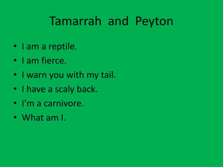Tamarrah  and  Peyton