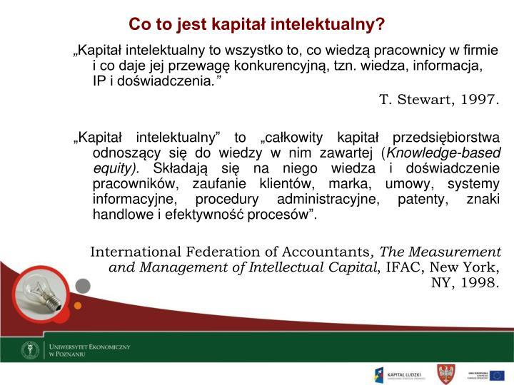Co to jest kapitał intelektualny?